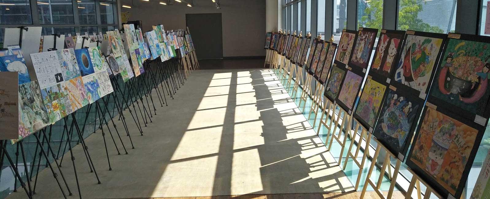 150 artworks from the winners of the Singapore International Original Comics Competition (SGIOCC), China Hangzhou International Cartoon Festival (CICAF) Singapore section.