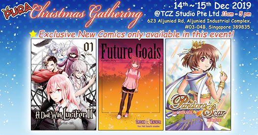 pura xmas new comic books launch