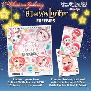 A Deal With Lucifer Freebies